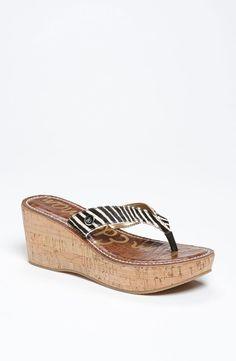 Sam Edelman 'Romy' Wedge Flip Flop - http://womenspin.com/shoes/sam-edelman-romy-wedge-flip-flop/