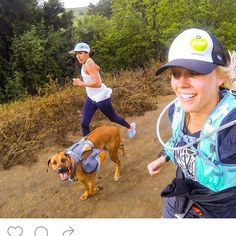 These women are amazing- and their dog, too! @gobyfoottraining