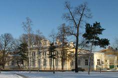 Caserne du Régiment du corps des Lanciers de la Garde - Peterhof - Construite en 1901 - 1903 par V.A. Crete.