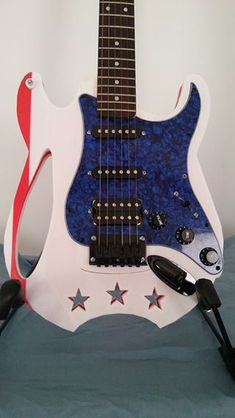 Electric Guitar with 3D Printed Body