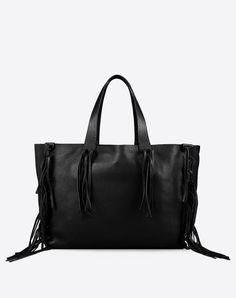 Valentino Online Boutique - Valentino Women Large Fringe Tote