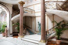 Musée Jacquemart-André. Escalier