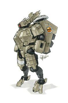 Tau 'Crisis' Battlesuit by Tekka-Croe on DeviantArt Tau Battlesuit, Tau Empire, Warhammer 40k Art, Lego Mecha, Space Marine, Science Fiction, Concept Art, Sci Fi, Character Design