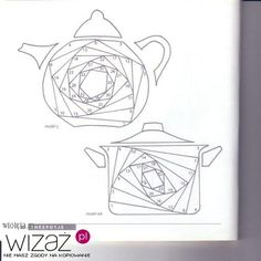 Iris Folding Templates & Inspirations - Aga Piechocińska - Picasa Albums Web