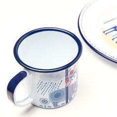 Folklore Enamel Mugs