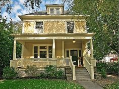 yellow and black house - Google Search