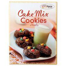 Cake Mix Cookies  Cookbook