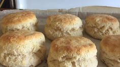 Homemade fluffy biscuits are easy to make with this simple recipe using plenty of baking powder to help create giant biscuits. Serve with gravy or butter and jam.