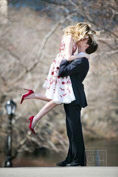 Happy Valentine's Day from JunebugWeddings.com! Photo from Michael Falco of Christian Oth Studio. #valentinesday
