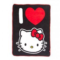 Hello Kitty I Love Kitty Throw