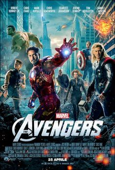 The Avengers - can't wait to watch this movie!!