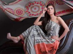 Shariq Textiles Subhata Print Spring Collection 2014