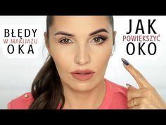 MAKIJAŻ POWIĘKSZAJĄCY OKO + BŁĘDY W MAKIJAŻU | Podstawy Makijażu - YouTube Coconut Oil Moisturizer, Instant Face Lift, Lip Wrinkles, Coconut Oil For Face, Wrinkle Remover, Natural Glow, Health And Beauty, Eyeliner, Hair Beauty