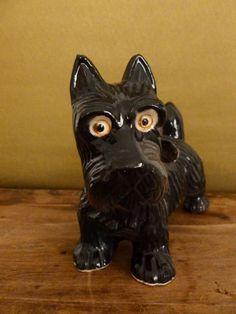 Vintage Scotty Dog Ceramic Planter by KittiesandMutts on Etsy, $23.00