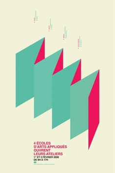 Creative Poster, Design, Portes, Ouvertes, and Graphic image ideas & inspiration on Designspiration Graphic Design Typography, Graphic Design Illustration, Graphic Design Art, Print Design, Type Posters, Poster Prints, Visual Aesthetics, Ecole Art, Aesthetic Design