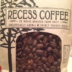 Recess Coffee, Syracuse, NY.  They roast their beans in house~fresh