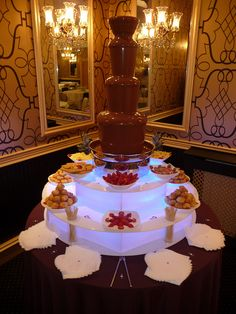 Chocolate Fountain For Any Wedding Turning Visions Into Events Pinterest Fountains And