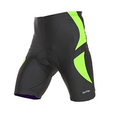 Men's Cycling Underwear - Outto Mens Padded Cycling Bike Bicycle Underwear ShortsCloseout * You can get more details by clicking on the image.