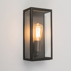 £52.95 Outdoor Wall Lamp Rotterdam 1 Black