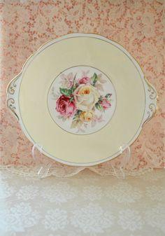 Beautiful Vintage Royal Albert Cake Plate