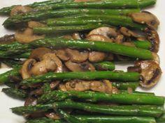 Asparagus and Mushrooms Recipe
