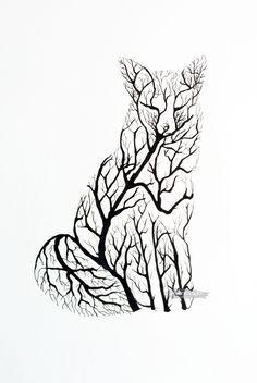 branch silhouette - Google Search