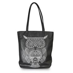 Purple Leopard Boutique - Loungefly Embroidered White Owl Black Tote Bag Purse, $60.00 (http://www.purpleleopardboutique.com/loungefly-embroidered-white-owl-black-tote-bag-purse/)