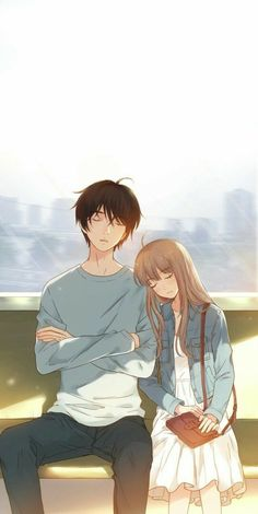 Manga Couple - HuntingAnime have the greatest selection of anime merchandise to offer with the most popular anime brands.Selected by fans for fans, find what's new today.This is a site you don't want to miss. Kawaii Anime, Anime Cupples, Anime Guys, Cute Couple Drawings, Cute Couple Art, Anime Love Couple, Manga Couple, Romantic Anime Couples, Anime Couples Drawings