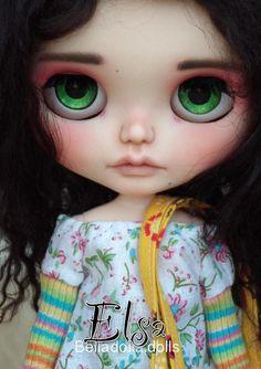 Elsa: Blythe OOAK od BellaDolla 217