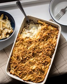 Completely comforting vegan pasta bake. All that creaminess you want without all that cheese. Make ahead to save some time. You won't be disappointed.