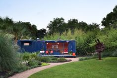 Shipping container guest house retreat