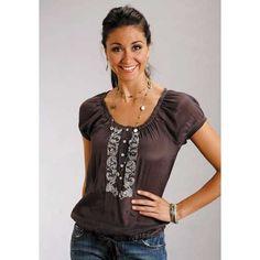 Chocolate Fantasy | Western Shirts | Western Wear |Cowgirl Western Shirt | Ladies Western Shirts | AJ's Western Wear