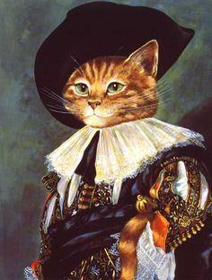 Oorspronkelijk: The Laughing Cavalier. Geschilderd door Frans Hals.