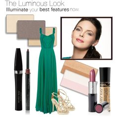 The Luminous Look by marykayus on Polyvore featuring beauty, Mary Kay, Oasis and Badgley Mischka www.marykay.com/jpatrick2027