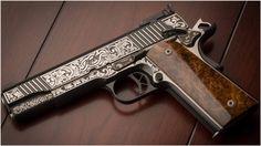 Kimber Gun 4K Wallpaper