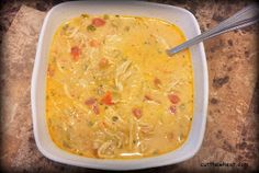 Cut the Wheat, Ditch the Sugar: Creamy, Spicy, Four Pepper Mexican Chicken Soup: Low Carb, Grain Free, Gluten Free, Sugar Free