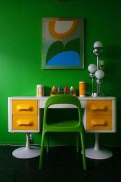 desk - Raymond Loewy Style Broyhill Furniture