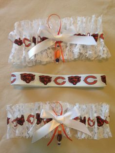 "Chicago ""Bears"" Garter by SportzNutty on Etsy"