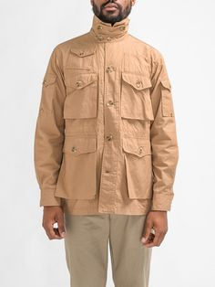 Explorer jacket by Engineered Garments.