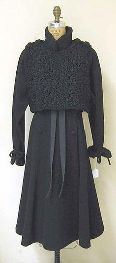 Coat  Karl Lagerfeld  (French, born Hamburg, 1938)