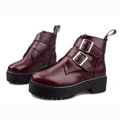 Winter Casual Purity Women's Shoes Boots Platform shoes DSH-341591 - TinyDeal