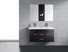 Bathroom Vanities 54 Finley Double Sink Vanity Plum 1 Audra