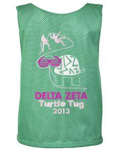 Delta Zeta Turtle Tug Shirts
