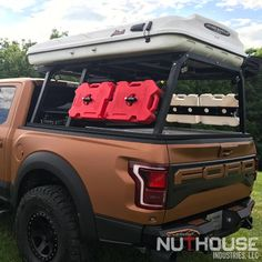 Nutzo - Tech 2 series Expedition Truck Bed Rack - Nuthouse Industries Truck Bed Trailer, Truck Bed Camper, Truck Camping, Camping Hacks, Lawn Trailer, New Trucks, Lifted Trucks, Chevy Trucks, Pickup Trucks