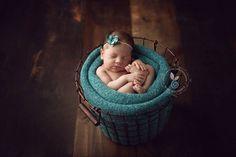 pinterest newborn basket blanket fold