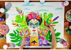 @lourdes_villagomez Doterra, Painting Inspiration, Teacher, Projects, Ideas, Mexicans, Stickers, Watercolor Painting, Paintings