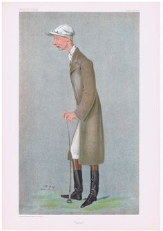 Date:  30-Aug-1900   The Vanity Fair Caricature of    Lester  Reiff  With the caption of  :  Lester  By the artist:  SPY    Visit www.theakston-thomas.co.uk for many more Vanity Fair Prints, we have one of the largest collections in the world.