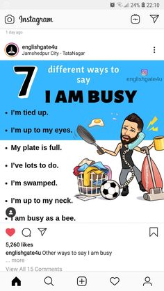 English Tips, English Words, English Lessons, English Grammar, Learn English, Ielts Tips, Other Ways To Say, Fluent English, English Language Learning
