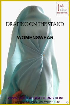 Learn How to Drape on the Stand with lectures in the fashion industry!