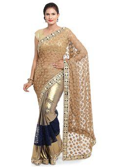 Golden Saree, Cover Up, Designers, Sari, Dresses, Fashion, Saree, Vestidos, Moda